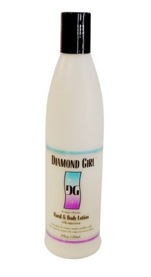 Diamond Girl Hand and Body Lotion with Sunscreen 355ml