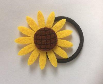 Sunflower Hair Tie