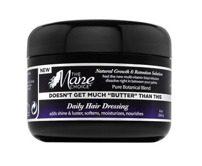 "The Mane Choice Doesn't Get Much ""BUTTER"" Than This Daily Hair Dressing 226.8g"