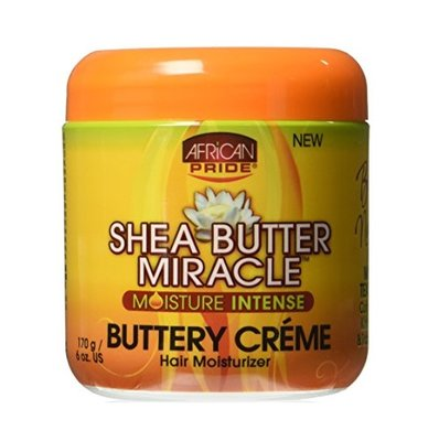 African Pride Shea Butter Miracle Buttery Crème 170g