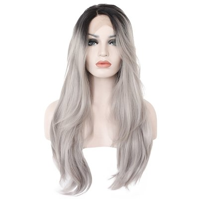 Synthetic Wavy Lace Front Wig