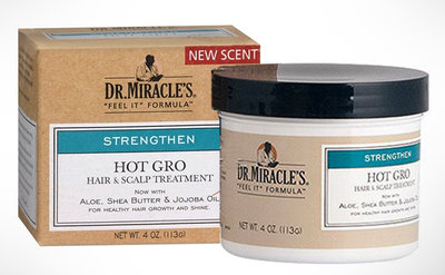 Dr. Miracle's Hot Gro Hair & Scalp Treatment Conditioner 113g