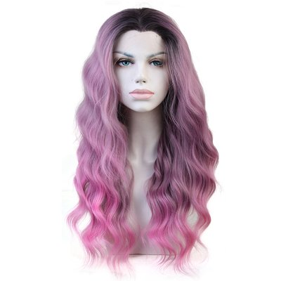 Synthetic Lace Front Wig Body Wave 18 inch