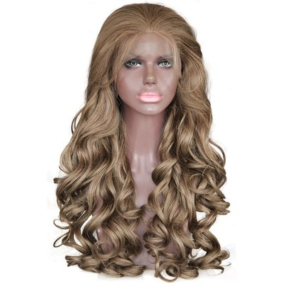 Synthetic Wavy Lace Front Wig 20 inch