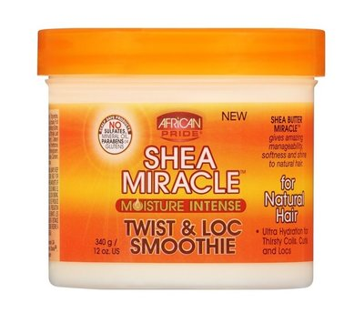 African Pride Shea Butter Miracle Twist and Loc Smoothie 340g