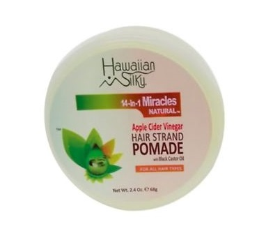 Hawaiian Silky 14-in-1 Miracles Natural Apple Cider Vinegar Hair Strand Pomade 68g