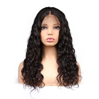 Brazilian Remy Natural Wave Lace Front Wig
