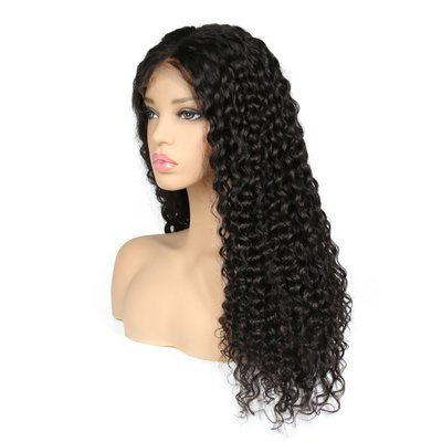 Brazilian Remy Deep Wave Lace Front Wig