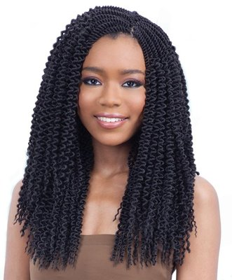FreeTress Pre-Curled Jamaican Braid
