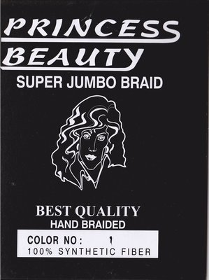 Princess Beauty Super Jumbo Braid ca. 63 cm