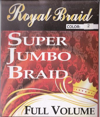 Royal Braid - Super Jumbo Braid Full Volume 63 cm