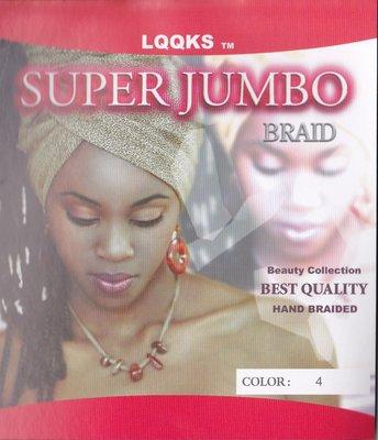 LQQKS Super Jumbo Braid ca. 63 cm
