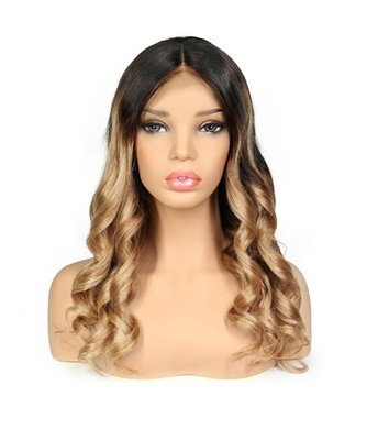 Brazilian Remy Wavy Lace Front Wig