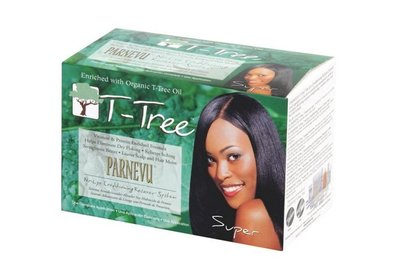 Parnevu T-Tree No-Lye Conditioning Relaxer System Super