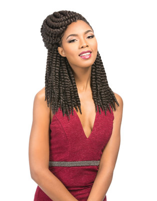 Sensationnel African Collection Rumba Twist Braid 12 inch