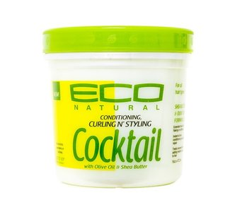 Eco Natural Conditioning Curling N Styling Cocktail With Olive Oil & Shea Butter 473.2ml