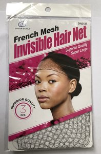 Dream World French Mesh Invisible Hair Net