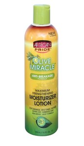 African Pride Olive Miracle Moisturizer Lotion 355ml