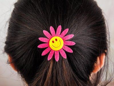 Smiley Face Hair Tie