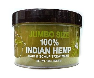 Kuza Jumbo Size 100% Indian Hemp Hair & Scalp Treatment 508.5g