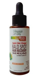 Hawaiian Silky 14-in-1 Miracles Natural Apple Cider Vinegar Bald Spot Hair Recovery Serum 52ml
