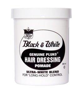 Black & White Genuine Pluko Hair Dressing Pomade 200ml