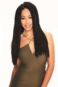 "Sleek Fashion Idol Express Jamaica Faux Locks 18"""