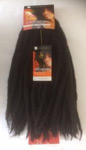 Sensationnel Soft N' Silky Afro Natural Syn Afro Twist Braid ca. 35 cm