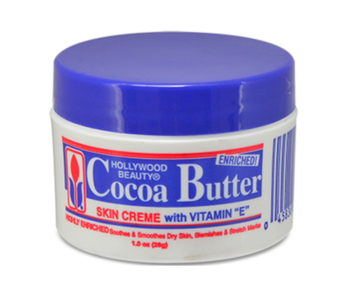 Hollywood Beauty Cocoa Butter Skin Creme 28g