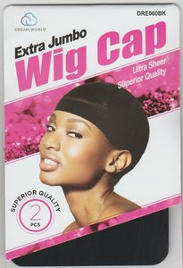 Dream World Extra Jumbo Wig Cap 2pcs