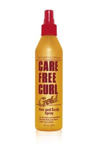 SoftSheen Carson Care Free Curl Gold Hair & Scalp Spray 237ml